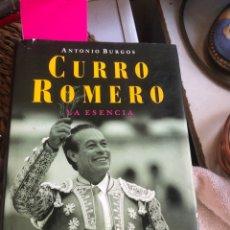 Libros: LIBRO CURRO RONERO. Lote 277453623
