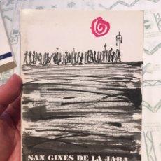 Libros: SAN GINES DE LA JARA (CARTAGENA). Lote 289002753
