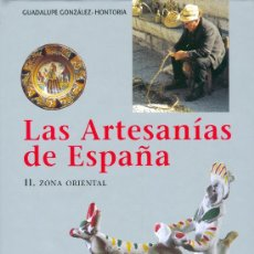 Libros: GUADALUPE GONZALEZ-HONTORIA. ARTESANÍA DE CATALUÑA, BALEARES, PAÍS VALENCIANO, MURCIA. BARNA, 2001. Lote 20000973