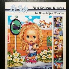 Libros: RR. 1 CUADERNO CON 12 PÁGINAS PARA MANUALIDADES O DECOUPAGE EN 3D. INFANTIL. TAMAÑO A5.. Lote 36487687