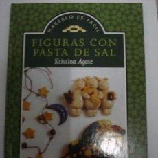 Libros: FIGURAS CON PASTA DE SAL.KRISTINA AGATE.. Lote 51038257