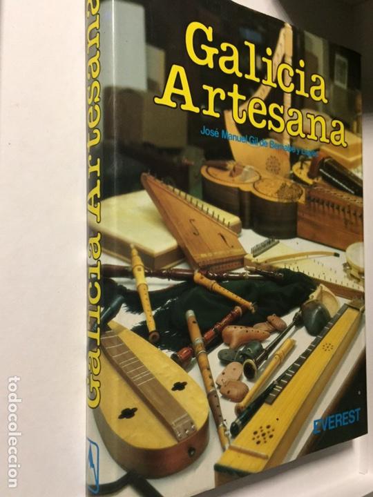 GALICIA ARTESANA EDITORIAL EVEREST JOSÉ MANUEL GIL DE BERNABÉ Y LÓPEZ 221 PÁGINAS (Libros Nuevos - Bellas Artes, ocio y coleccionismo - Artesanía y Manualidades)