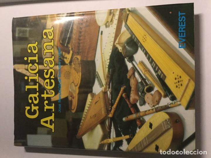Libros: Galicia artesana editorial Everest José Manuel Gil de Bernabé y López 221 páginas - Foto 13 - 75846029