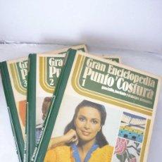Libros: 3 LIBROS DE PUNTO Y COSTURA. TOTAL1.160 PAG. GASTOS DE ENVIO 10€.. Lote 80251121
