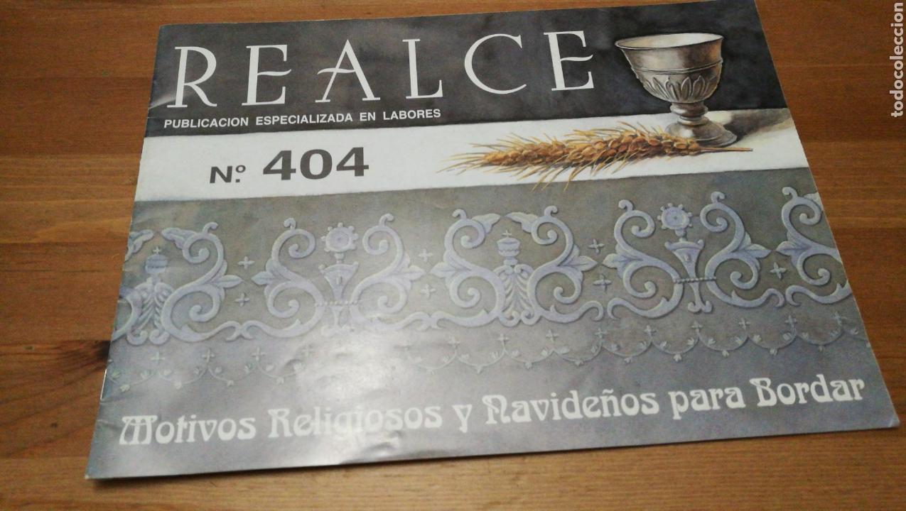 REALCE 404, MOTIVOS RELIGIOSOS Y NAVIDEÑOS (Libros Nuevos - Bellas Artes, ocio y coleccionismo - Artesanía y Manualidades)