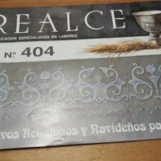 Libros: REALCE 404, MOTIVOS RELIGIOSOS Y NAVIDEÑOS. Lote 160842002
