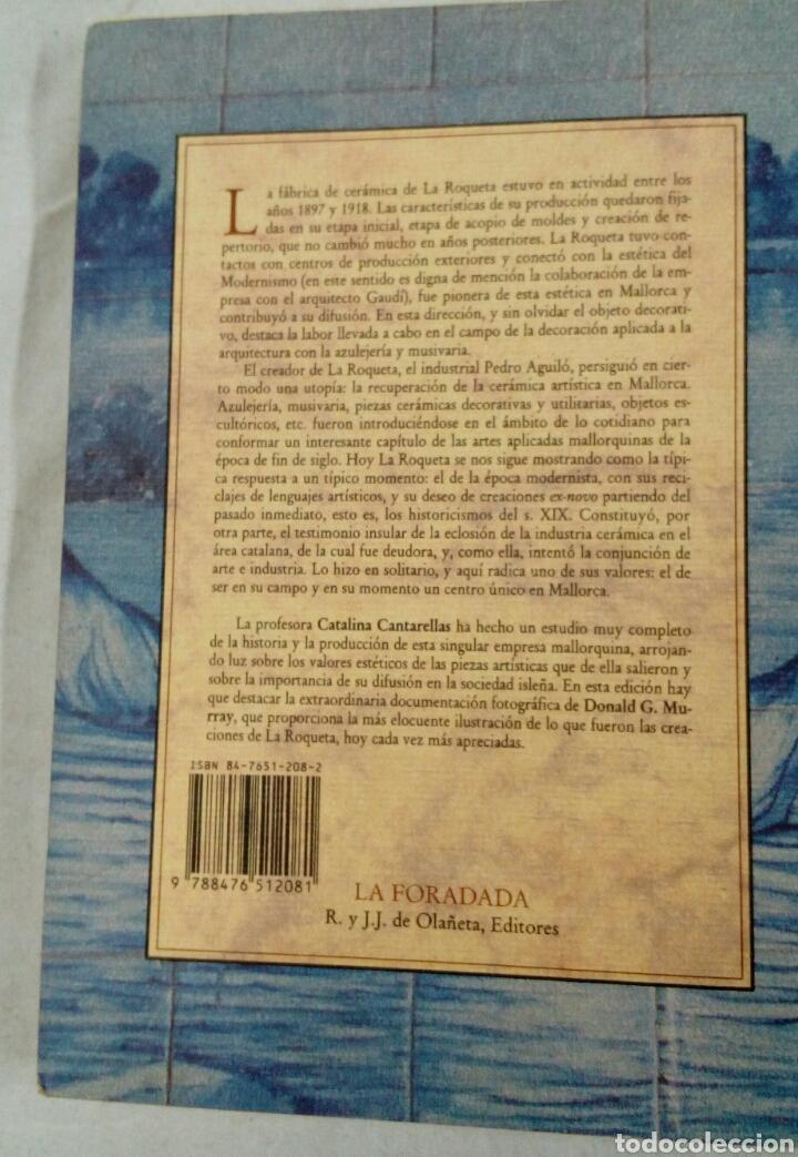 Libros: Cerámica de la Roqueta libro catálogo Mallorca Baleares - Foto 2 - 212123182