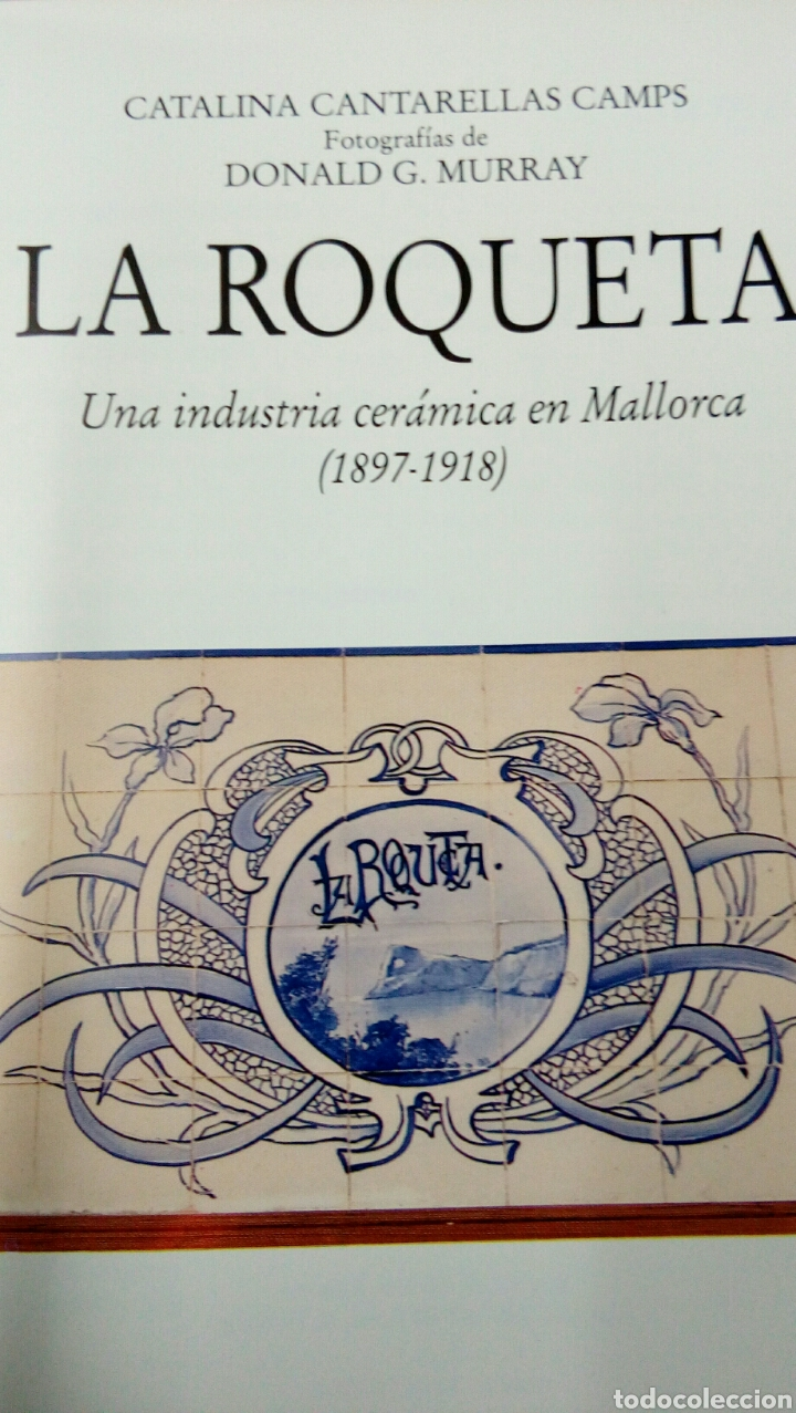 Libros: Cerámica de la Roqueta libro catálogo Mallorca Baleares - Foto 3 - 212123182