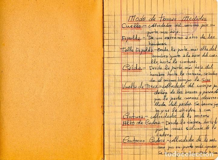 Libros: EL RAPIDO.MÉTODO DE CORTE Y CONFECCIÓN. ÁNGELA LOPEZ AMADOR. Y CUADERNO APRENDIZAJE SECCIÓN FEMENINA - Foto 8 - 119881787