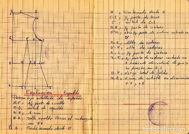 Libros: EL RAPIDO.MÉTODO DE CORTE Y CONFECCIÓN. ÁNGELA LOPEZ AMADOR. Y CUADERNO APRENDIZAJE SECCIÓN FEMENINA - Foto 9 - 119881787