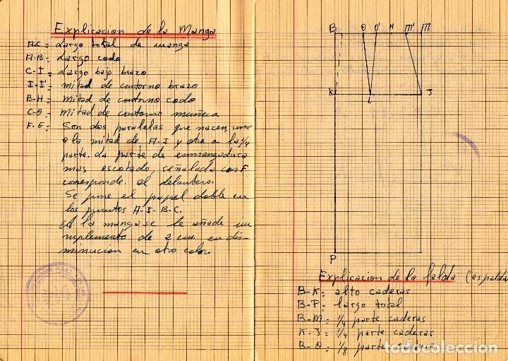 Libros: EL RAPIDO.MÉTODO DE CORTE Y CONFECCIÓN. ÁNGELA LOPEZ AMADOR. Y CUADERNO APRENDIZAJE SECCIÓN FEMENINA - Foto 12 - 119881787