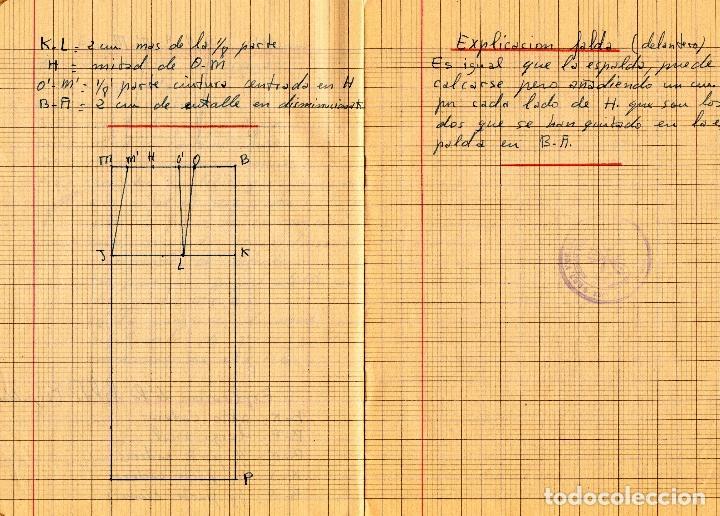 Libros: EL RAPIDO.MÉTODO DE CORTE Y CONFECCIÓN. ÁNGELA LOPEZ AMADOR. Y CUADERNO APRENDIZAJE SECCIÓN FEMENINA - Foto 13 - 119881787