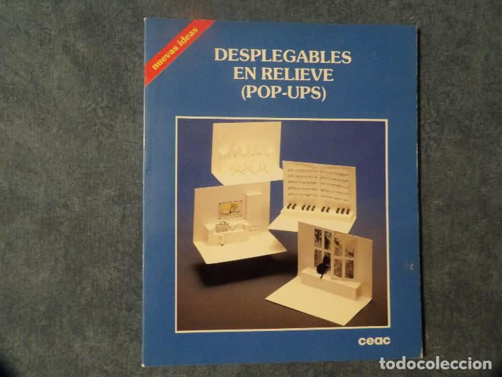 DESPLEGABLES EN RELIEVE POP-UPS (Libros Nuevos - Bellas Artes, ocio y coleccionismo - Artesanía y Manualidades)