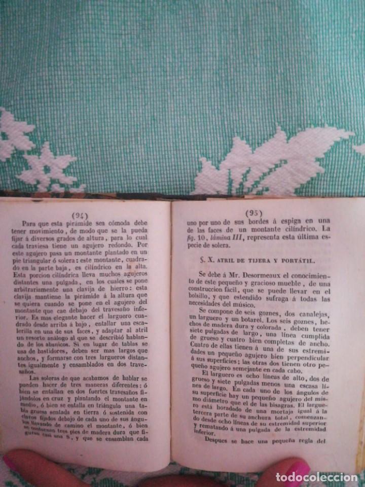 Libros: Manual del carpintero y ebanista de muebles y edificios, 1845 - Foto 5 - 134004294