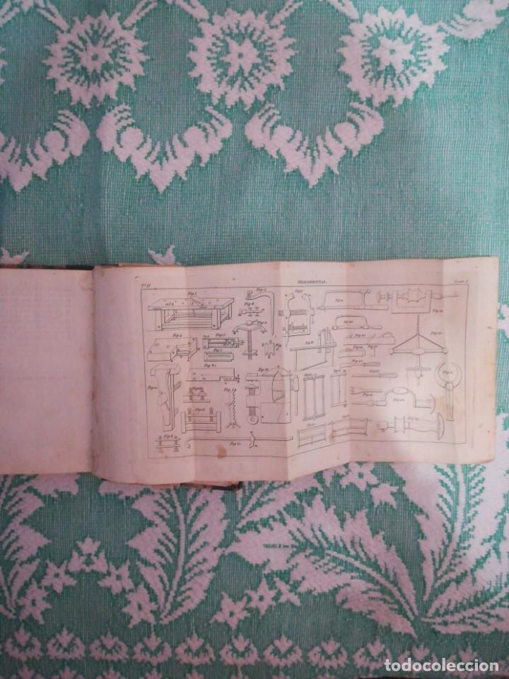 Libros: Manual del carpintero y ebanista de muebles y edificios, 1845 - Foto 6 - 134004294