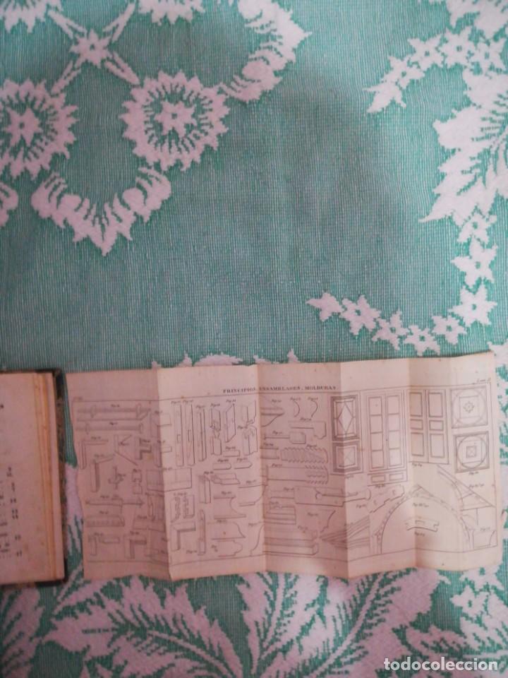 Libros: Manual del carpintero y ebanista de muebles y edificios, 1845 - Foto 8 - 134004294