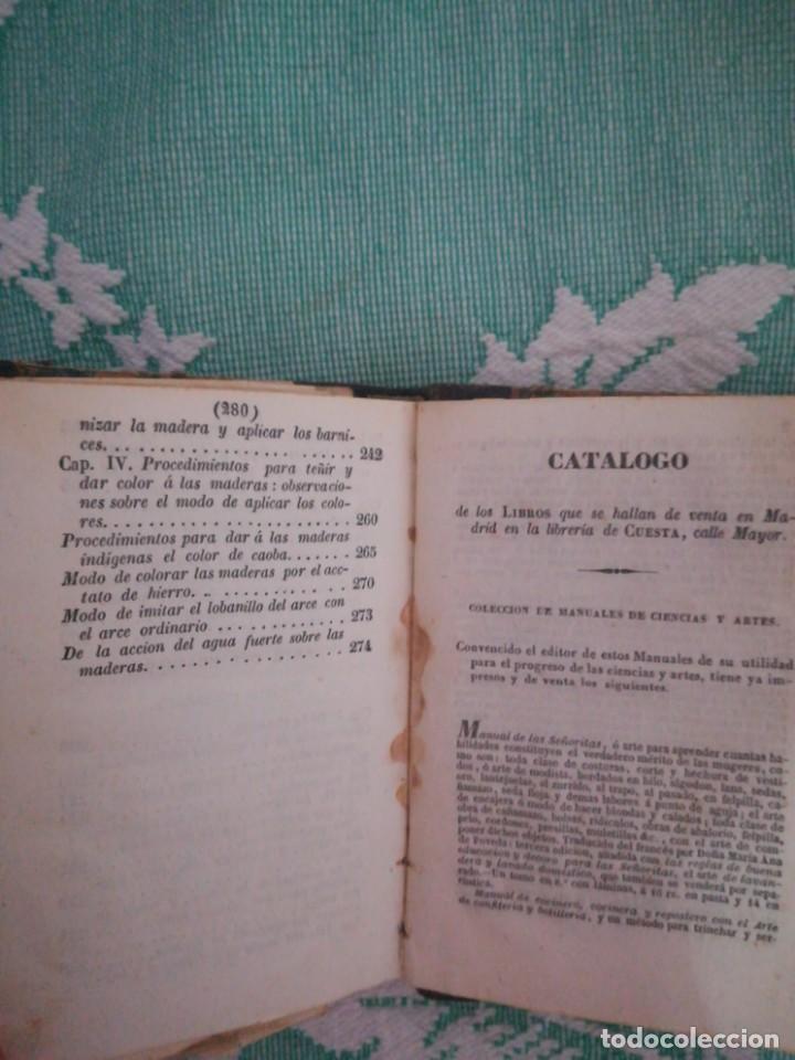 Libros: Manual del carpintero y ebanista de muebles y edificios, 1845 - Foto 11 - 134004294