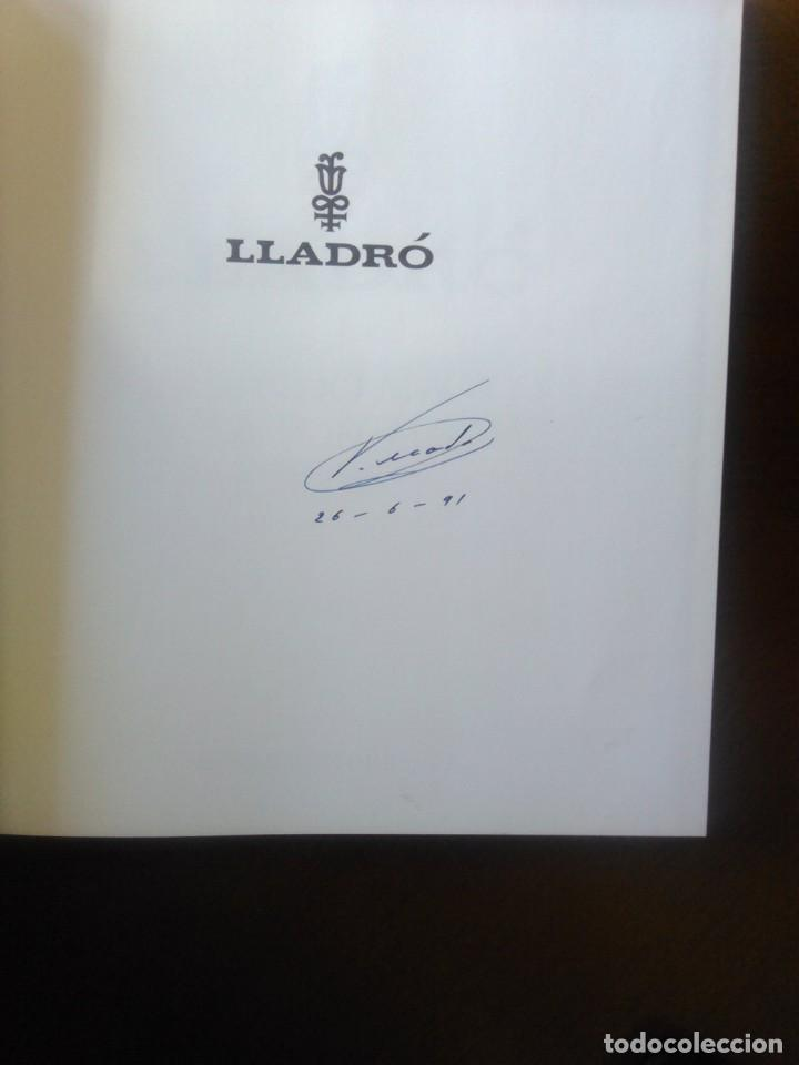 Libros: LLADRO - EL MUNDO MAGICO DE LA PORCELANA - SALVAT - Foto 3 - 141642822