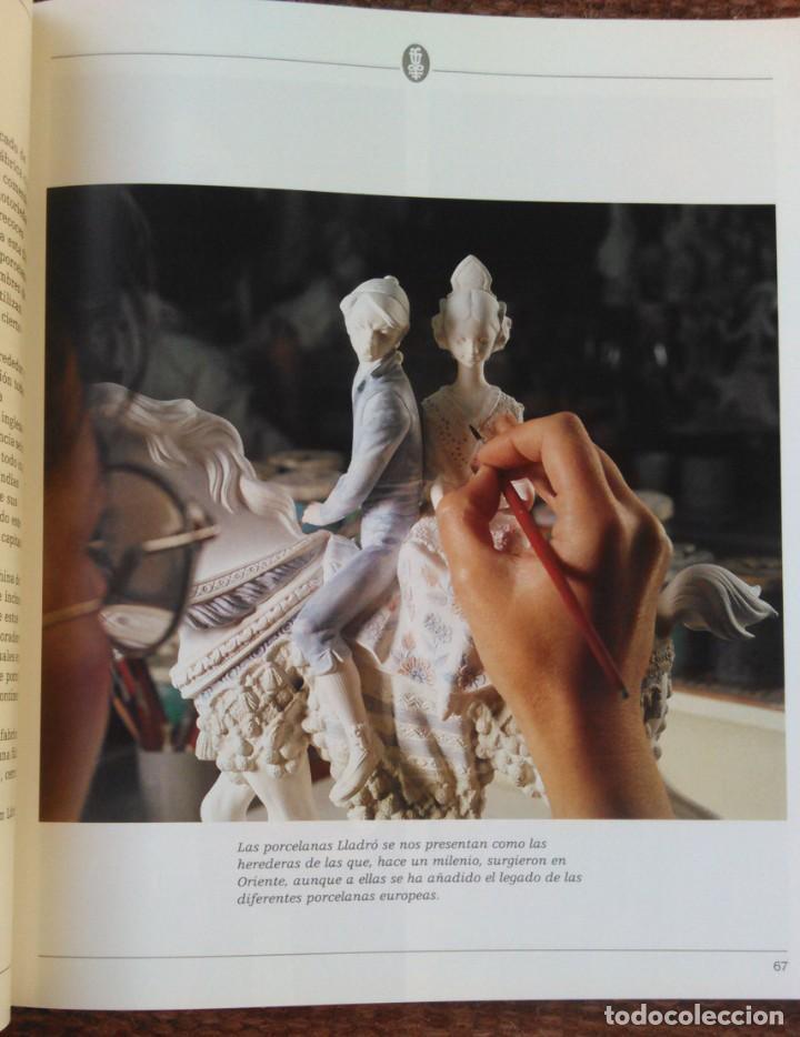 Libros: LLADRO - EL MUNDO MAGICO DE LA PORCELANA - SALVAT - Foto 7 - 141642822