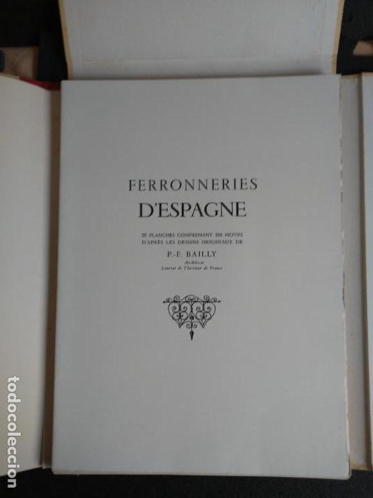 Libros: Artesanía del Hierro en España. 50 planchas. - Foto 2 - 142254246