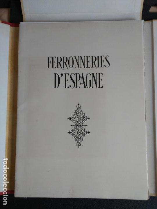 Libros: Artesanía del Hierro en España. 50 planchas. - Foto 4 - 142254246
