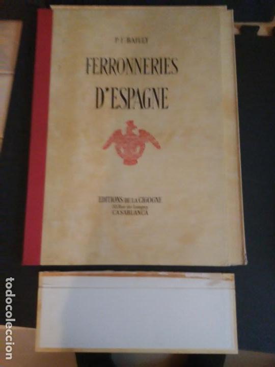 Libros: Artesanía del Hierro en España. 50 planchas. - Foto 5 - 142254246