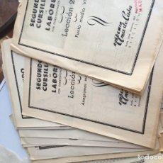 Libros: LIBROS PEQUEÑOS, CURSILLOS DE LABORES. Lote 143843822