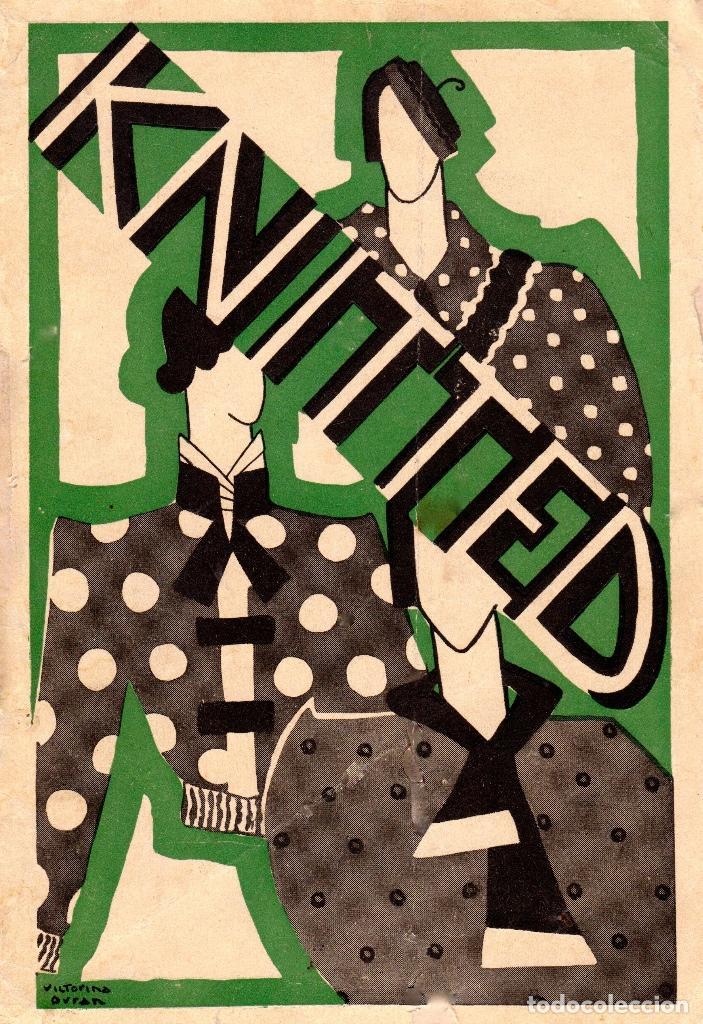 KNITTED GUIA DE LABORES DE PUNTO DE MEDIA TOMO 1. 1934 4º, 220 PAG. (Libros Nuevos - Bellas Artes, ocio y coleccionismo - Artesanía y Manualidades)