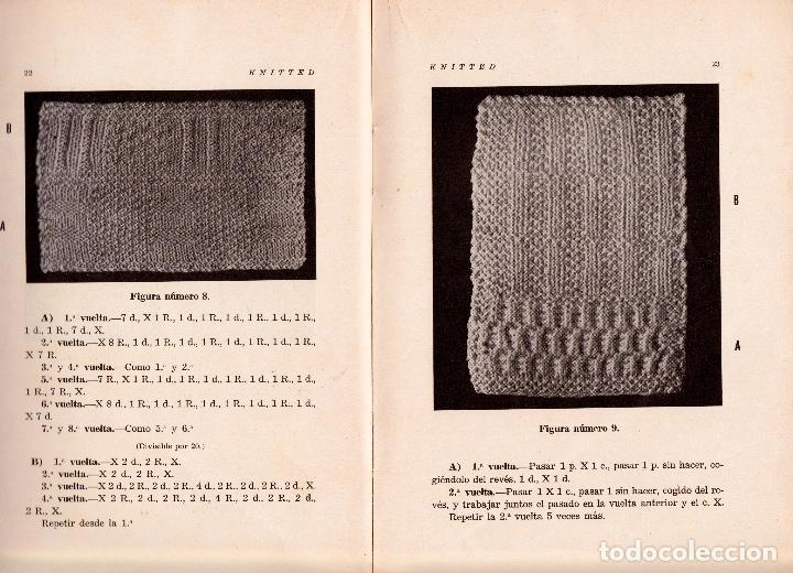 Libros: KNITTED GUIA DE LABORES DE PUNTO DE MEDIA TOMO 1. 1934 4º, 220 PAG. - Foto 2 - 144107734