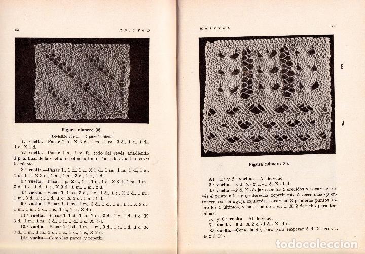 Libros: KNITTED GUIA DE LABORES DE PUNTO DE MEDIA TOMO 1. 1934 4º, 220 PAG. - Foto 3 - 144107734