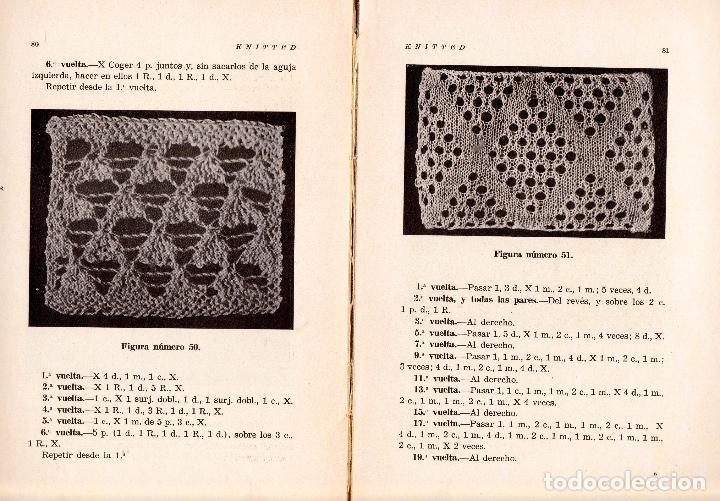 Libros: KNITTED GUIA DE LABORES DE PUNTO DE MEDIA TOMO 1. 1934 4º, 220 PAG. - Foto 4 - 144107734