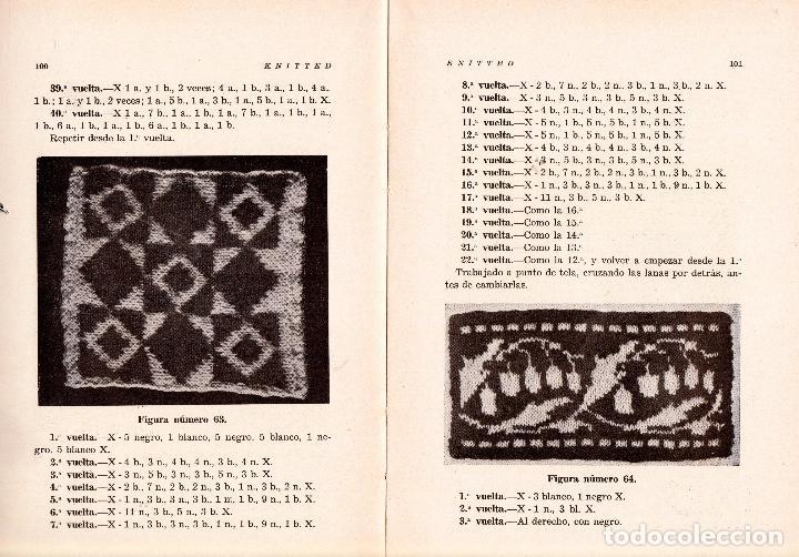 Libros: KNITTED GUIA DE LABORES DE PUNTO DE MEDIA TOMO 1. 1934 4º, 220 PAG. - Foto 5 - 144107734