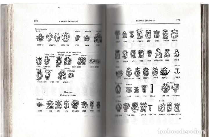 Libros: 2 LIBROS MARCAS Y PUNZONES DE LA PLATA,PLATEROS ESPAÑOLES Y SUS PUNZONES,POINÇONS DARGENT,1950-75 - Foto 2 - 146288038