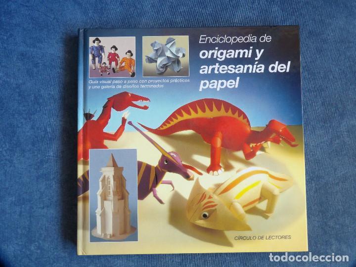 ORIGAMI Y ARTESANIA DEL PAPEL (Libros Nuevos - Bellas Artes, ocio y coleccionismo - Artesanía y Manualidades)