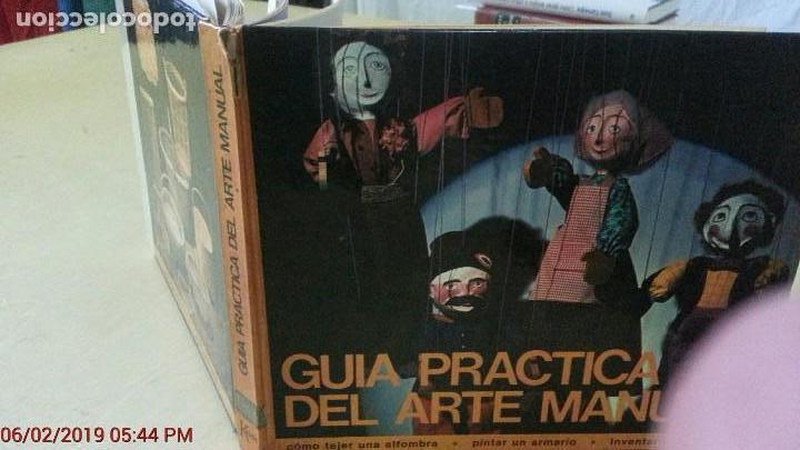 Libros: GUÍA PRÁTICA DEL ARTE MANUAL - EDITORIAL KAIRÓS - AÑO 1972 (ILUST) - Foto 2 - 150215882