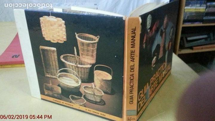 Libros: GUÍA PRÁTICA DEL ARTE MANUAL - EDITORIAL KAIRÓS - AÑO 1972 (ILUST) - Foto 3 - 150215882