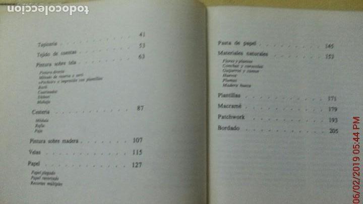 Libros: GUÍA PRÁTICA DEL ARTE MANUAL - EDITORIAL KAIRÓS - AÑO 1972 (ILUST) - Foto 5 - 150215882