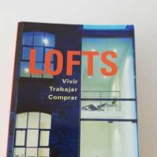 Libros: LOFTS (ARQUITECTURA). Lote 161903518