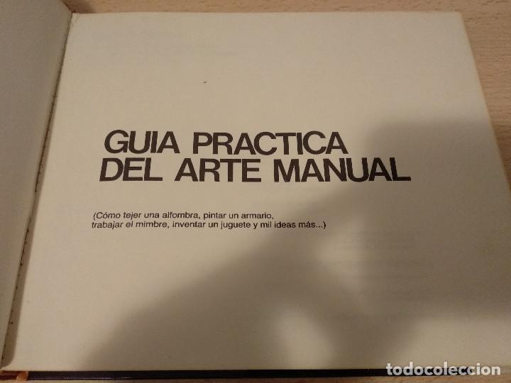Libros: Guia practica del arte manual - Foto 2 - 167882092