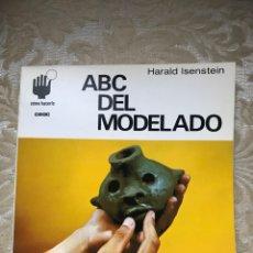 Libros: ABC DEL MOLDEADO / CÓMO HACERLO / CEAC / ESCULTURA. Lote 171264268