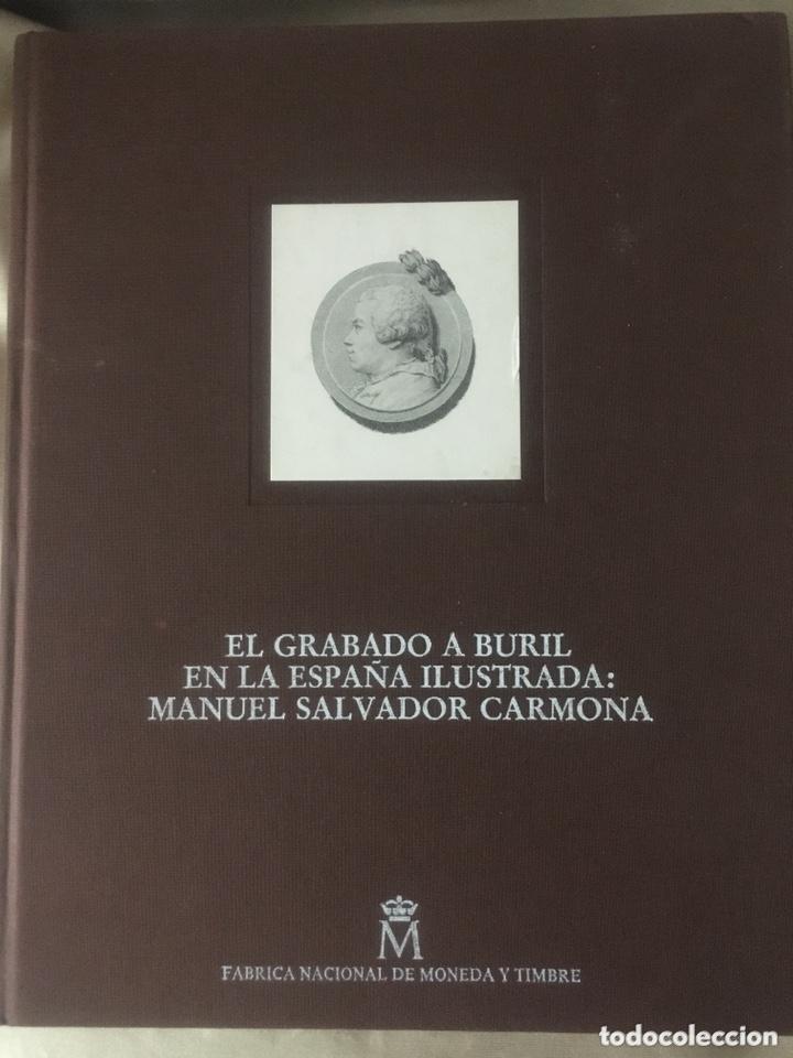 LIBRO EL GRABADO A BURIL EL LA ESPAÑA ILUSTRADA: MANUEL SALVADOR CARMONA (Libros Nuevos - Bellas Artes, ocio y coleccionismo - Artesanía y Manualidades)