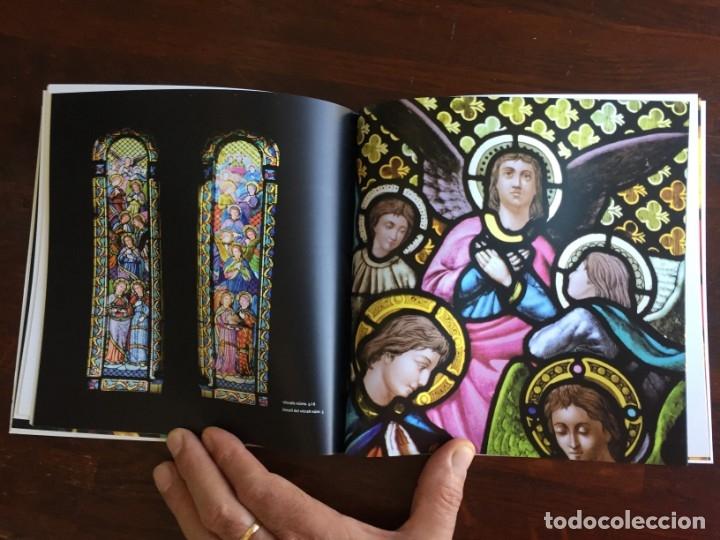 Libros: Els vitralls del Cambril de Montserra, repaso histórico he ilustrado de los vitralls del camarín - Foto 2 - 175799339