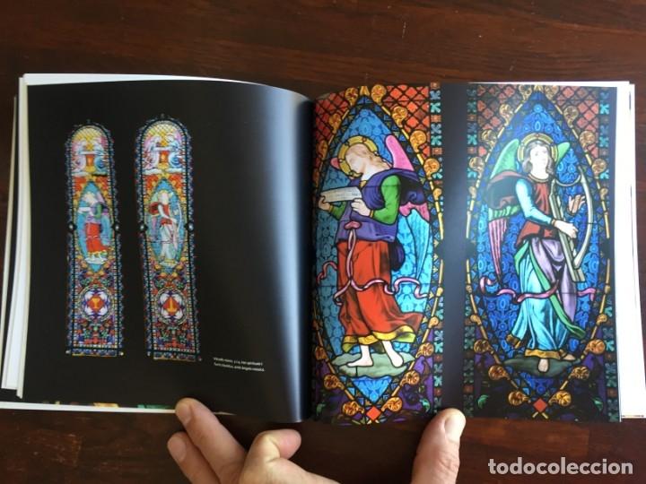 Libros: Els vitralls del Cambril de Montserra, repaso histórico he ilustrado de los vitralls del camarín - Foto 4 - 175799339