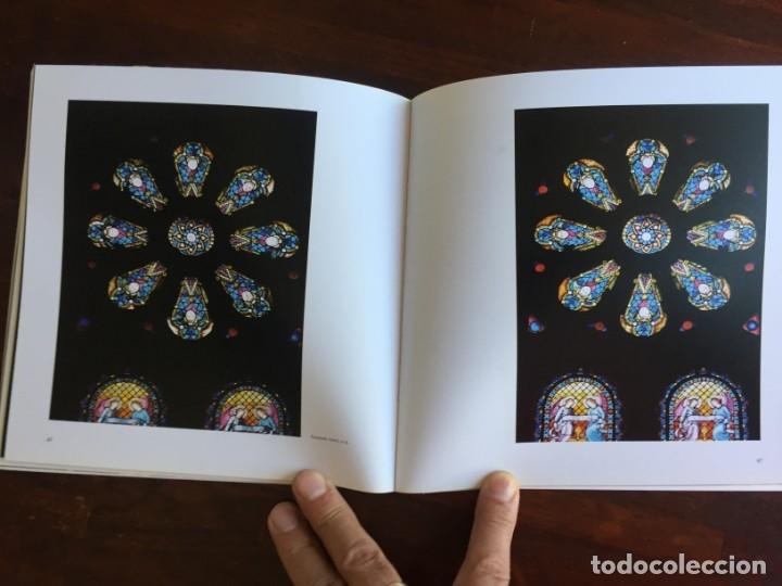 Libros: Els vitralls del Cambril de Montserra, repaso histórico he ilustrado de los vitralls del camarín - Foto 5 - 175799339