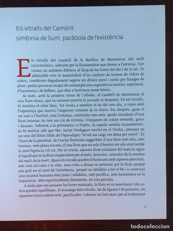Libros: Els vitralls del Cambril de Montserra, repaso histórico he ilustrado de los vitralls del camarín - Foto 6 - 175799339