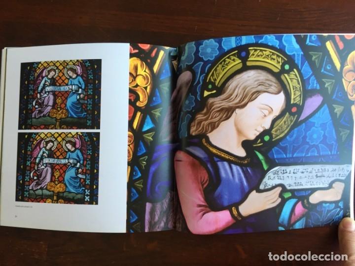 Libros: Els vitralls del Cambril de Montserra, repaso histórico he ilustrado de los vitralls del camarín - Foto 7 - 175799339