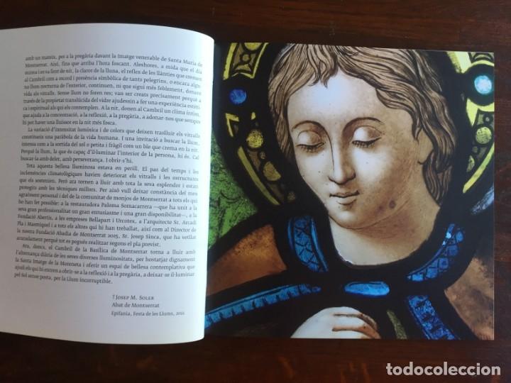Libros: Els vitralls del Cambril de Montserra, repaso histórico he ilustrado de los vitralls del camarín - Foto 8 - 175799339