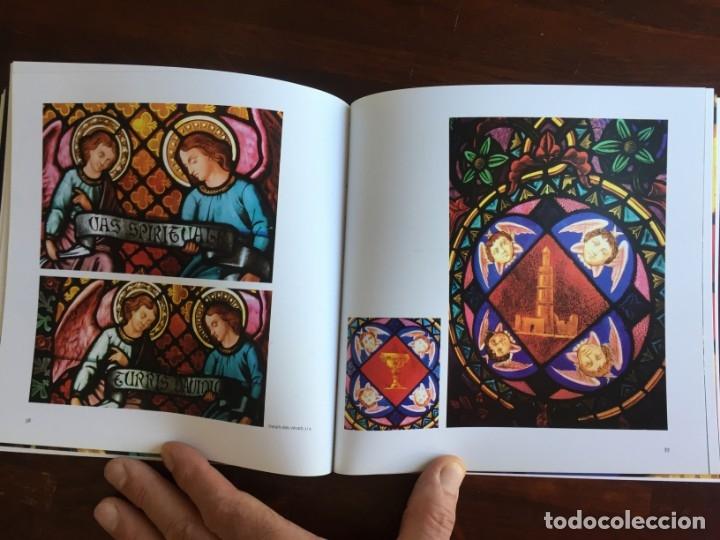 Libros: Els vitralls del Cambril de Montserra, repaso histórico he ilustrado de los vitralls del camarín - Foto 9 - 175799339