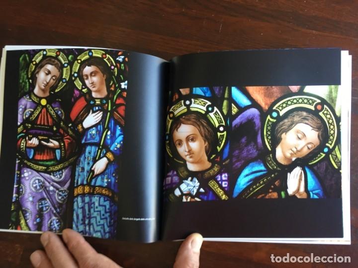 Libros: Els vitralls del Cambril de Montserra, repaso histórico he ilustrado de los vitralls del camarín - Foto 10 - 175799339