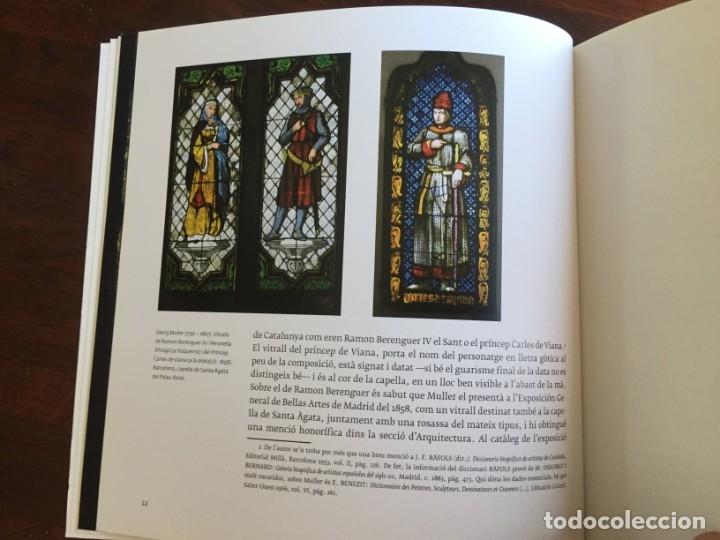 Libros: Els vitralls del Cambril de Montserra, repaso histórico he ilustrado de los vitralls del camarín - Foto 11 - 175799339
